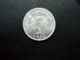 TUNISIE : 5 MILLIM   1960   KM 282    SUP+ - Tunisie