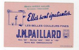 Dec18     83411    Buvard    JM Paillard Les Belles  Couleurs - Cine & Teatro