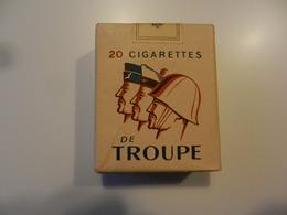 Paquet De Cigarettes Troupe Militaire Français - Around Cigarettes