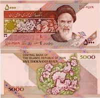IRAN       5000 Rials       P-145d      ND (2001)        UNC - Iran