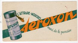 Dec18     83408    Buvard   L'attrape Mouche  AEROXON - Produits Ménagers