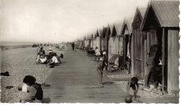 80 Cayeux Sur Mer N°3 Les Planches Les Cabines Landau Ancien Enfants Homme Avec Canne Cliché Lelong Amiens Animée - Cayeux Sur Mer