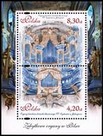 Poland 2015 Fi BLOK 277 Mi BLOK 241 Antique Music Organs In Poland - Nuevos