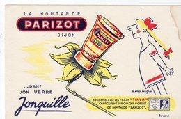 Dec18     83402    Buvard  Motarde Parizot Dijon - Moutardes