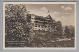 AK CH ZG Walchwil Erholungsheim St.Elisabeth 1931-08-31 Kirschblüte Foto E.Grau #1931 - ZG Zoug