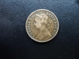 ROYAUME UNI : 1 FARTHING   1891   KM 753    TB+ - B. 1 Farthing