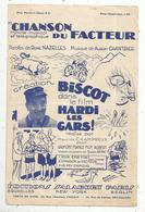 Partition Musicale Ancienne, CHANSON DU FACTEUR Dans Le Film Hardi Les Gars !,  Frais Fr : 1.55e - Scores & Partitions