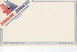 Dec18     83499    Buvard  Zébraline Zébracier - Produits Ménagers
