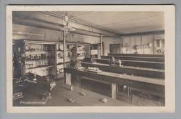"""AK CH ZG Menzingen Institut """"Physikraum"""" 1934-06-07 Foto E.Grau - ZG Zoug"""