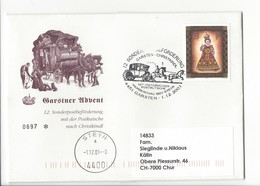 21192 - Christkindl 2001 Garsten Sonderpostbeförderung Mit Der Postkutsche 01.12.01 Steyr Pour Chur - Noël