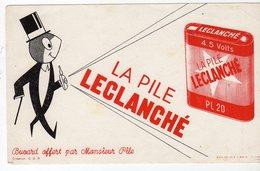 Dec18     83495    Buvard    Plie Leclanché - Piles