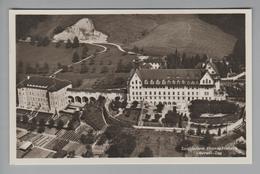 AK CH ZG Oberwil Sanatorium Franziskusheim Foto Flugaufnahme - ZG Zoug