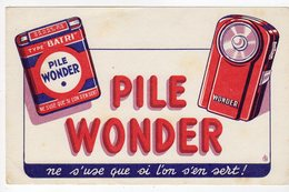 Dec18     83494    Buvard    Plie Wonder - Piles