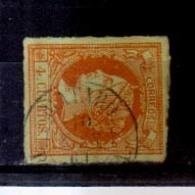 Año 1860 Edifil 52 4c Isabel II    Matasellos Mataro Barcelona - 1850-68 Königreich: Isabella II.