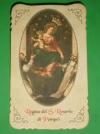 Serie IM37 - MADONNA Di POMPEI Santino Edizione Santuario - Images Religieuses