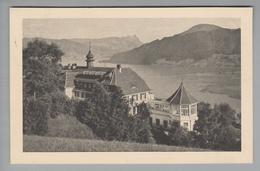 "AK CH ZG Unterägeri Sanatorium ""Adelheid"" 1948-08-09 Foto Orell Füssli - ZG Zoug"