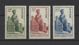SARRE.  YT  N°273/275  Neuf **  1950 - 1947-56 Occupation Alliée