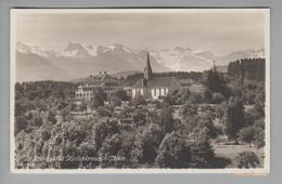 AK CH ZG Cham 1931-12-29 Foto Institut Heiligkreuz H.Lunte - ZG Zoug