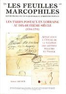 Bulletin Les Feuilles Marcophiles N° 296, 297, 298, 299 Et Suppléments Aux 295, 296 Et 299 Année 1999 Soit 7 Numéros - Manuali