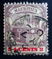 1900 Maurice - Mauritius Yt 101 - Mi 96. Coat Of Arms . Oblitéré - Maurice (...-1967)