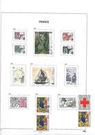 France   .   Page Avec Timbres      .      O      .     Oblitéré - France