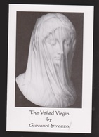 The Veiled Virgin By Giovanni Strazza - Information Card - Unused - Tourism Brochures