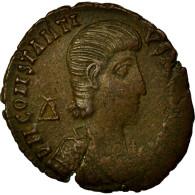 Monnaie, Constantius Gallus, Maiorina, 351, Alexandrie, TTB, Cuivre, RIC:77 - 7. L'Empire Chrétien (307 à 363)