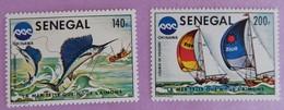 "SENEGAL ANNEE 1976 YT 421/422 NEUF(**)""EXPOSITION OCEANOGRAPHIQUE OKINAWA"" - Sénégal (1960-...)"