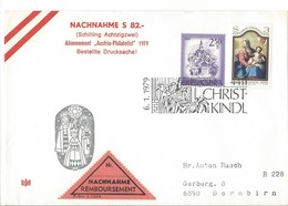 21204 - Christkindl 1979 Lettre Nachnahme Pour Dornbirn  06.01.1979 - Noël