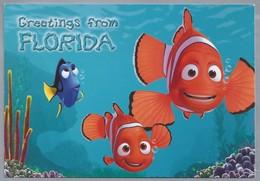 US.- GREETINGS FROM FLORIDA. Vis. - Gruss Aus.../ Gruesse Aus...