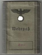 Wehrpass Eines Feldwebels Beim Stalag XI A In Altengrabow - Eintragungen Aus Dem 1. Und 2. Weltkrieg - 1939-45