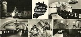 """Strakonice (Cecoslovacchia) Vinarna """"Hradni Sklep"""" Views, Vues, Vedute - Tchéquie"""
