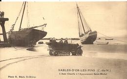 SABLE D'OR LES PINS . AUTO CHENILLE A ST MICHEL - France