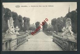 Beloeil. Entrée Du Parc Et Vue Du Château.   Voyagée En 1919.  Recto/verso - Beloeil