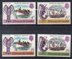 TRISTAN DA CUNHA   Timbres Neufs ** De 1970 ( Ref 5889 )    - Animaux- Mer - Langoustes - Tristan Da Cunha