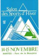 CPM* N°76 - SALON DES SPORTS D' HIVER 1987 + SALON DE LA NEIGE ET DU TOURSIME 1997 + SALON DU CHAMPIGNON 2005 - NANTES - Nantes