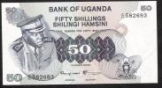 UGANDA  P8c   50   SHILLINGS   1973    UNC. - Ouganda