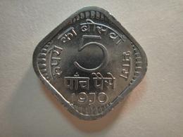 INDIA 5 Paise 1970-B MS-65 (GEM) - India