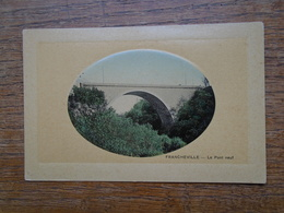 Carte Assez Rare , Francheville , Le Pont Neuf - Frankreich