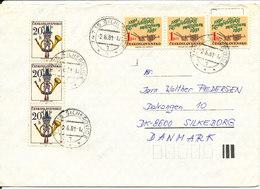 Czechoslovakia Cover Sent To Denmark 2-6-1981 - Czechoslovakia