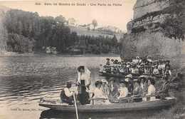 DOUBS  -  25 -  Une Partie De Peche Dans Les Bassins Du Doubs (tres Animée ) - France