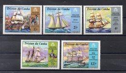 TRISTAN DA CUNHA   Timbres Neufs ** De 1971 ( Ref 5890 )    -transport - Bateaux- Voiliers - Tristan Da Cunha