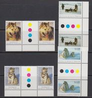 AAT 1994 Huskies 4v Gutter (+traffic Lights, Margin) ** Mnh (41525A) - Australisch Antarctisch Territorium (AAT)