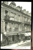LOURDES - Maison NICOLAU, Boulevard De La Grotte (Superbe Plan Animé Avec Commerces) - Winkels