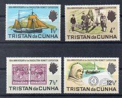 TRISTAN DA CUNHA   Timbres Neufs * De 1971 ( Ref 5892 ) Expédition Shackleton - Tristan Da Cunha