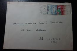 Lettre De DJIBOUTI POUR TOULOUSE - Afars Et Issas (1967-1977)