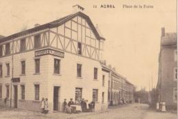 Aubel Place De La Foire Feldpost Voir Verso - Aubel