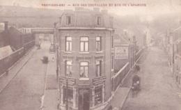 Verviers-Est Rue Des Couvailles Et Rue De L'Epargne Circulée En 1906 - Verviers
