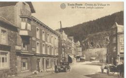 Trois-Pont - Centre Du Village Vu De L'Avenue Joseph Lejeune - Albert - Editeur Grand Bazar Des Ardennes - Trois-Ponts