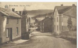 Trois-Pont - Rue Des Villas - Albert - Editeur Grand Bazar Des Ardennes - Trois-Ponts